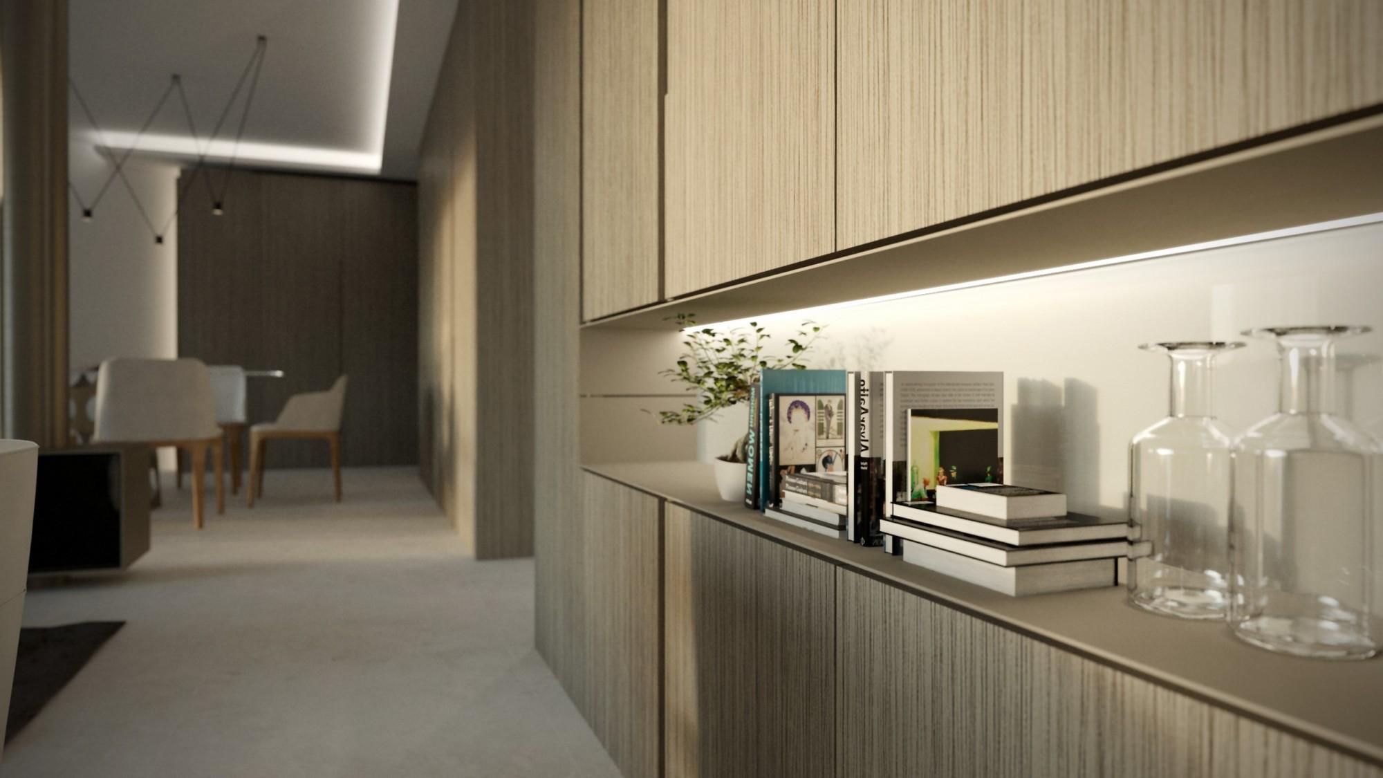 Architecte D Intérieur Cannes appartement à cannes sur la croisette - architectes haut de